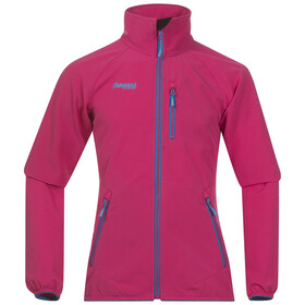 Bergans Kjerag Jacket Girl Hot Pink/Lt SeaBlue/Br SeaBlue